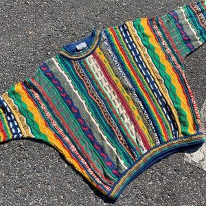 Vintage authentic coogi knit sweater